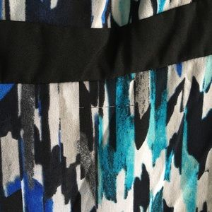 London Times Dresses - London Times A-line sleeveless patterned dress